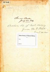 Boott-Manuscript inscription-1819 (melindahayes) Tags: 1576 qk41l7971576 lobelmatthiasde plantarum folioformat english boottfrancis