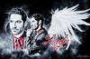 Lucifer Wings (kristin1228) Tags: lucifer fox tom ellis devil handsome wings sexy dark gothic graphic design art angel