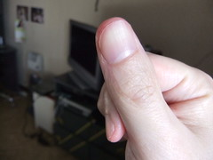 DSCF6292 (ongle86) Tags: sucer ronger ongles doigts mains thumb sucking nails biting fingers licking hand fetish