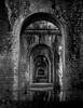 Watergate (Florian Christoph) Tags: water gate bridge kyoto japan black white bw lr lightroom abstract florian christoph