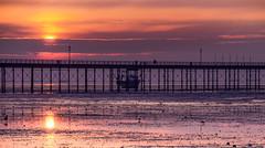 Felixstowe (iankent1963) Tags: felixstowe suffolk winter cold sunrise sun boat seascape colours sea ocean channel pier reflections calm tide nikond5100 tamron clouds flickr uk england
