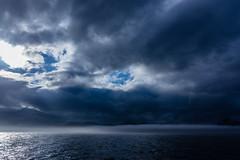 The Blue in the sky (*Capture the Moment*) Tags: 2012 clouds cruiseship elemente hurtigruten lofoten ocean sonne sonye356318200oss sonynex7 sun wasser water waves wellen wetter wolken wolkig himmel outdoor wolke ozean meer sea