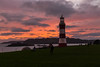 Red Sky (trevorhicks) Tags: plymouth hoe smeatons tower lighthouse