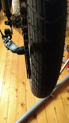 Chain is dangerously close to tire (gunnsteinlye) Tags: recumbent bicycle cruzbike quest skien norway