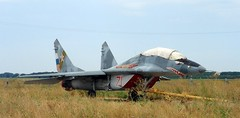 "MiG-29UB Fulcrum 1 • <a style=""font-size:0.8em;"" href=""http://www.flickr.com/photos/81723459@N04/32360082400/"" target=""_blank"">View on Flickr</a>"