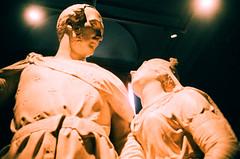 Albert and Victoria (oh it's amanda) Tags: ricohff1 london londonengland nationalportraitgallery museum 35mm xpro crossprocessed fujisensia400 expiredfilm expirationdateunknown