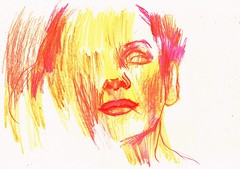 PRUEBAS 1 (GARGABLE) Tags: angelbeltrán apuntes sketch drawings dibujos retrato rostro gargable