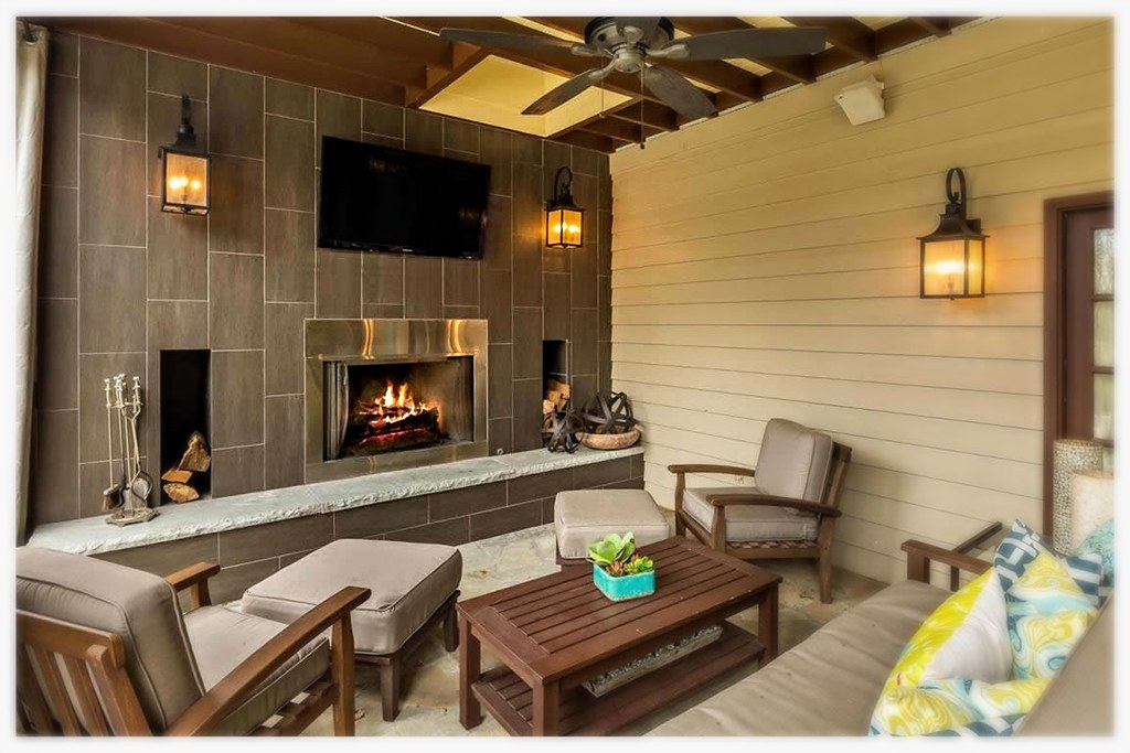 Outdoor Wood Burning Fireplace, Chattanooga, Tn.