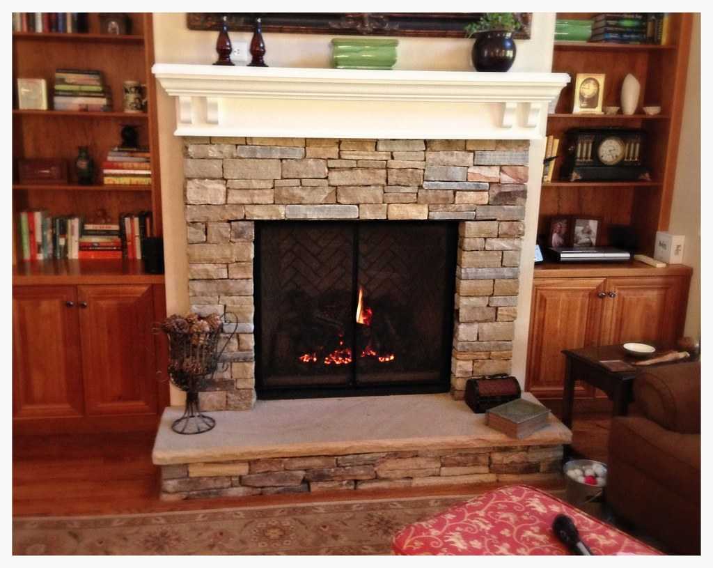 Mendota FV-46 Direct Vent Fireplace. Chattanooga, Tn.