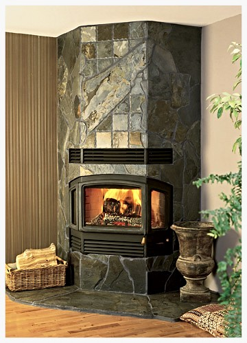 RSF Delta wood burning fireplace