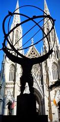 Atlas @ Rockefeller Center (Janehz) Tags: nyc newyorkcity stpatrickscathedral rockefellercenter atlas leelawrie