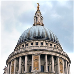 The Dome (jo92photos) Tags: london cathedral dome wren christopherwren stpaulscathedral