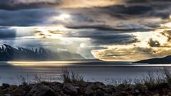 Hrsey og engilshfi (piparinn) Tags: sunset landscape iceland sland hrsey eyjafjrur landslag heidar slsetur norurland goldcollection canon70d piparinn engilshfi