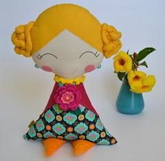 Boneca Biloska (Canteiro de Ideias) Tags: bonecas dolls handmade artesanato craft felt feltro decor decoração
