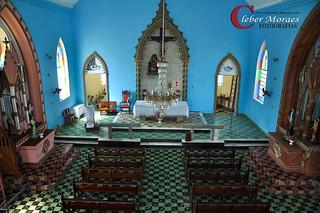 Altar Igreja Monte Serrat - Comendador Levy Gasparian - RJ - Brasil