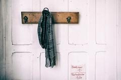 the forgotten scarf (glasseyes view) Tags: scarf forgotten antiquariat mecklenburgvorpommern glasseyesview