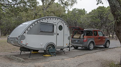 Campsite at Cedar Breaks Corps of Engineers Park near Georgetown, Texas (SamInDallas) Tags: nature forest texas rv tb hamradio qrp portableoperation k5kj cedarbreakscoepark