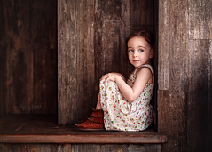 Doll (Portraits by Suzy) Tags: city las vegas light summer portrait urban brown texture girl beautiful beauty lines childhood fashion canon vintage painting model toddler warm photographer child dress natural 85mm style suzy mead 6d portraitsbysuzy