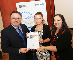 Antonia Travers from Robinsons Catering at the WorldHost Celebration and Certificate Presentation
