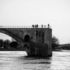 DSC_1339.jpg (Koma White) Tags: blackandwhite france eau noiretblanc nb pont paysage avignon rocher ville roche vaucluse carrière rustrel