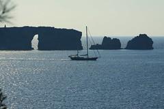 Sfaktiria (spicros78) Tags: sea sun canon ship yacht calm explore greece pylos 70200f4l canon50dshot