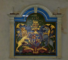 Royal Arms, St. George's, Ivychurch (grassrootsgroundswell) Tags: church kent royalarms englishparishchurch ivychurch