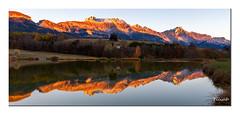 Mens - Le Devoluy - Isére (Ylliab Photo) Tags: ylliab ylliabphoto paysage landscape lepaysagesimplement mens ledevoluy world100f reflection isere mountain montagne