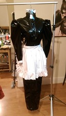 IMAG0409 (Ready2Role) Tags: maid pvc hobble