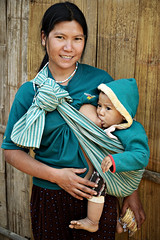 Young mom breastfeeding her baby in an Akha village - Shan State - Myanmar (PascalBo) Tags: people woman baby smile childhood mom happy kid nikon asia southeastasia child d70 burma femme mother happiness mum myanmar asie breastfeeding maman motherhood enfant sourire bb carrying shanstate akha breastfeed mre birmanie allaitement kengtung kyaingtong asiedusudest pascalboegli