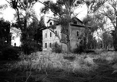 Ghost House v2 (matteo_anedda) Tags: white black fear ghost hose horror