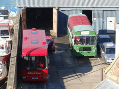 You missed a bit! (Coco the Jerzee Busman) Tags: uk bus islands coach jersey tours channel
