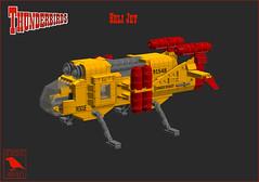 HeliJet (BricksRaven) Tags: lego thunderbirds helijet moc