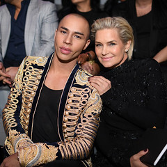 Olivier Rousteing & Yolanda Hadid Victoria's Secret red carpet 4Chion Lifestyle a (4chionlifestyle) Tags: olivier rousteing yolanda hadid front row victorias secret 4chionstyle vsfs vsfsparis16 victoriasecretfashionshow beauty model modeling runway victoriassecret paris parisfrance fashion style styling lingerie clothing shoes hair makeup jacket dress earrings accessories boots 4chionlifestyle