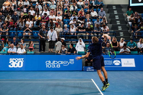"David Goffin's Service against Andy Murray • <a style=""font-size:0.8em;"" href=""http://www.flickr.com/photos/125636673@N08/31180781003/"" target=""_blank"">View on Flickr</a>"