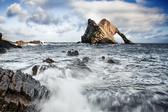 Bowfiddle Waves (Grant Morris) Tags: bowfiddle bowfiddlerock portknockie grantmorris grantmorrisphotography waves breakingwaves waterscape waterfront water beach landscape scotland canon 5d3