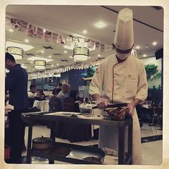 全聚德 (nefasth) Tags: quanjude 全聚德 canardlaqué 北京烤鸭 canarddepékin pekingduck pékin beijing chine china food restaurant cuisine 中國 hipstamatic 北京