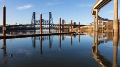 Eastbank Esplanade (Robert Wash) Tags: oregon or portland steelbridge willametteriver eastbankesplanade verakatzeastbankesplanade