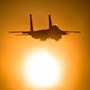 Liberty Sunset (Steve Cooke-SRAviation) Tags: 48thfighterwing 492fs 493fs 494fs 500mm 5d3 canon f15eagle f15c f15e raflakenheath sraviation usaf usafe sunset orb