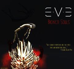 E.V.E Broken Souls Poster (eve.studio (Noke Yuitza)) Tags: 100originalmeshdesign dystopia lea23 artanddesign artinstallation lindenendowmentforthearts mementomori statue eve