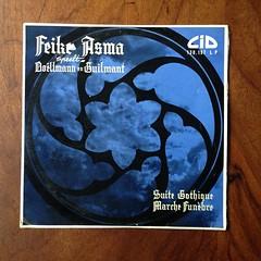 L.Boellmann - Suite Gotique, A.Guilmant - Marche Funebre - Feike Asma Baetz-Orgel Organ Orgue, New Lutheran Church, Amsterdam, Dureco CID 130.159 LP, 1957, 10 inch (Piano Piano!) Tags: lboellmannsuitegotique aguilmantmarchefunebrefeikeasmabaetzorgelorganorgue newlutheranchurch amsterdam durecocid130159lp 1957 10inch