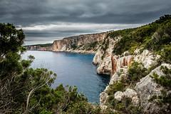 Stormy Spring (Rupert Brun) Tags: 2016 greece greek ionian island kefalonia may spring kefallonia gr storm stormy cliff sea ocean grey sky cloud clouds cliffs rain