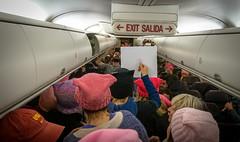 2017.01.20 Alaska Air Flight 6 in Pink LAX-DCA 00071