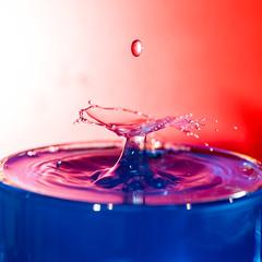 Red, White & Blue - Drop 2 (conanlloyd) Tags: 6d dropart mjkzz splash waterdroplet