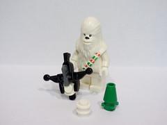 24th December Star Wars Lego Advent Calendar Deep Space Dec 2016 (symonmreynolds) Tags: 24thdecember starwars lego adventcalendar chewie chewbacca deepspace december 2016