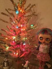 Holiday shine with Priscilla