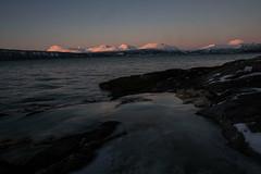 Fjord (aalmen) Tags: einarvika fjære seascape winter polarnight fujixt10