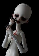 DC Zora (Red_Bloduewedd) Tags: bjd doll dolls resin dollchateau zora balljointeddoll haunting whiteresin dollchateauzora