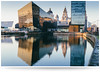 A Crisp Liverpool Morning (Frank Minghella) Tags: liverpool liverbuilding albert dock reflections