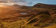 Cnoc a' Mheirlich and the Trotternish Escarpment - Skye (Bill Higham) Tags: skye scotland uk trotternish quiraing escarpment cnocamheirlich dawn sunrise