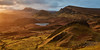 Cnoc a' Mheirlich and the Trotternish Escarpment - Skye (Bill Higham) Tags: skye scotland uk trotternish quiraing escarpment cnocamheirlich dawn sunrise